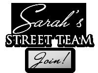 Join Sarah's Street Team